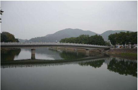 苍溪县漓江镇溪⼝村 三溪⼝桥建设⼯程